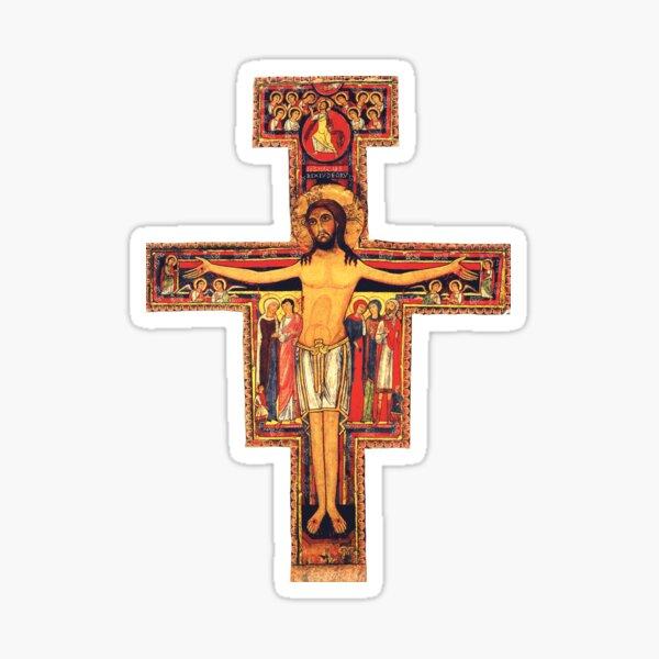 San Damiano Cross Sticker