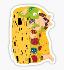 Klimt muppets Sticker