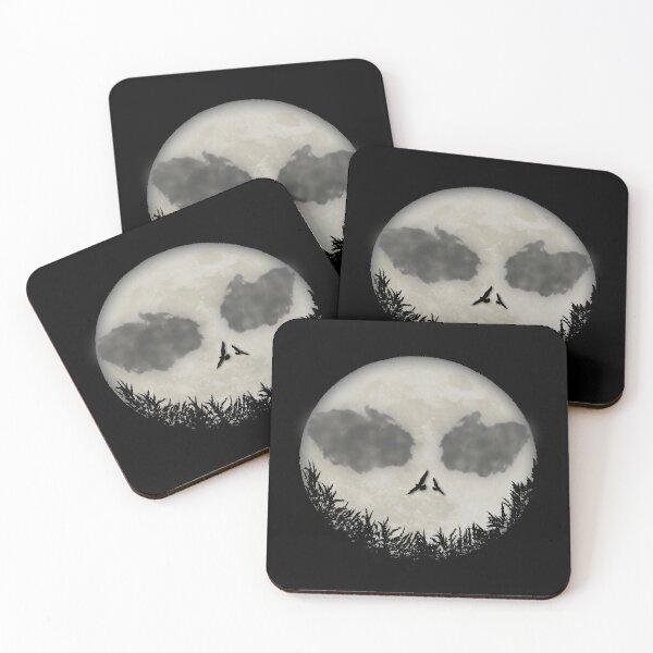 Skellington Nightmare  Coasters (Set of 4)