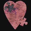 saw heart by IanByfordArt