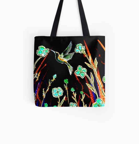 Joy All Over Print Tote Bag