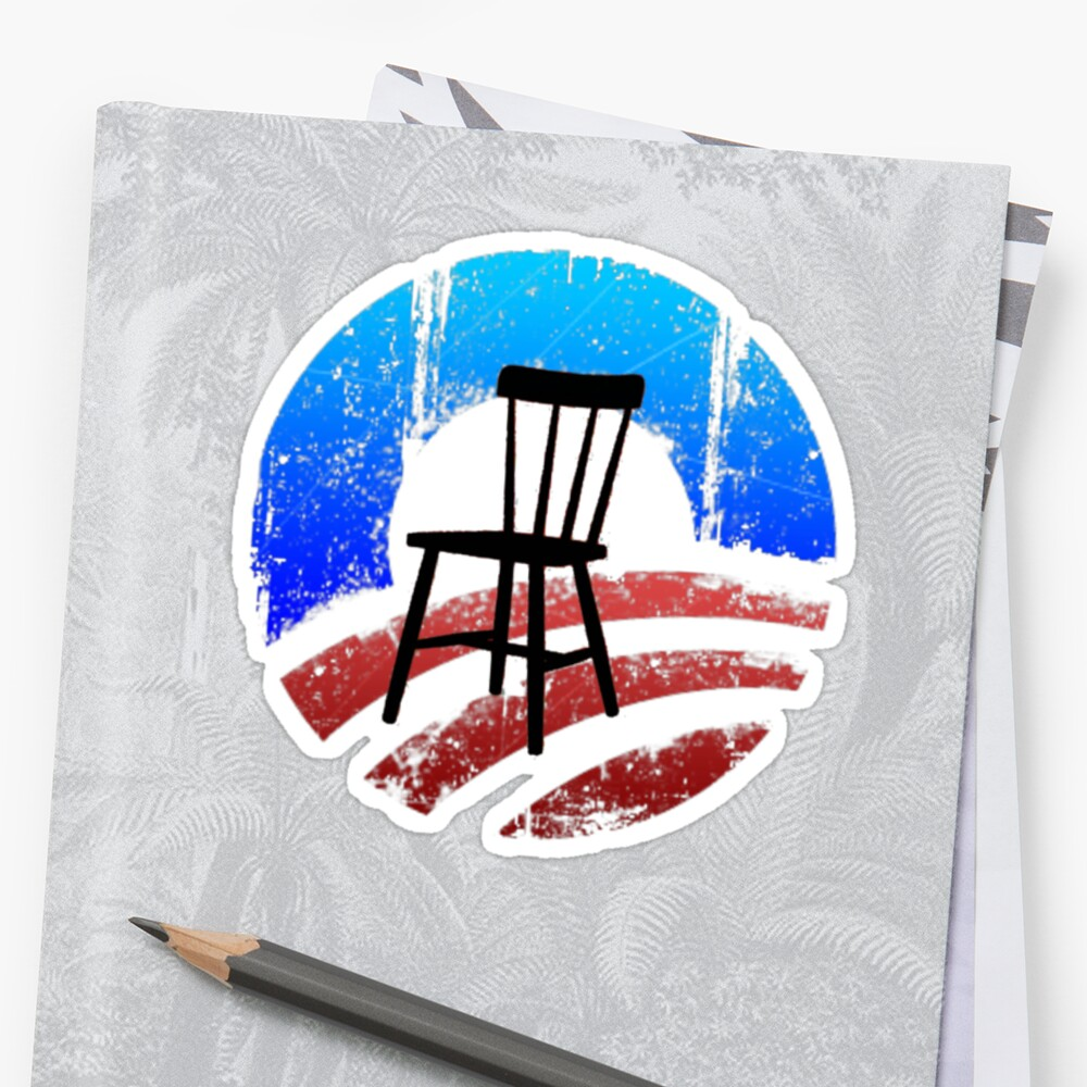 Empty Chair Meme invisible Obama by Tia Knight