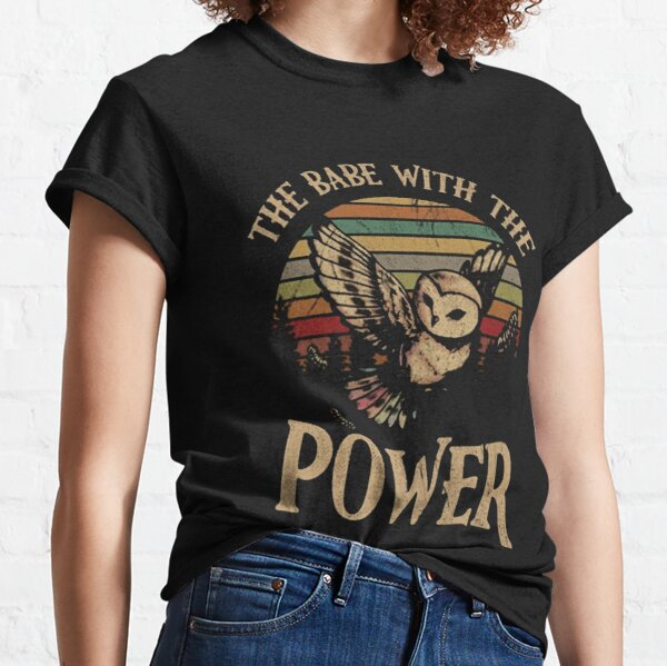 For Mens Womens David Bowie The Babe With the Classic T-Shirt