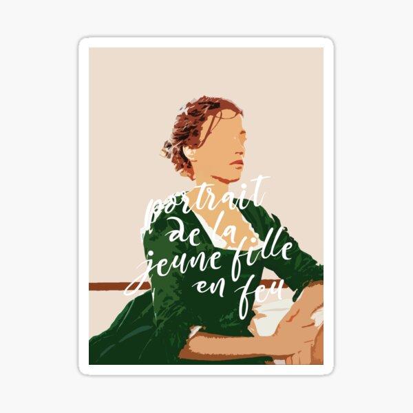 Portrait de la Jeune Fille en Feu (Heloise) Sticker