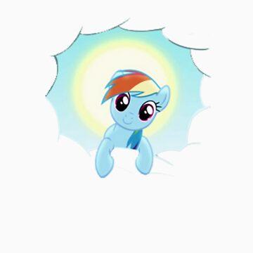 Rainbow Dash Cloud Appearance by LegendaryFisher