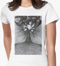 Night Tree Monn And We T-Shirt