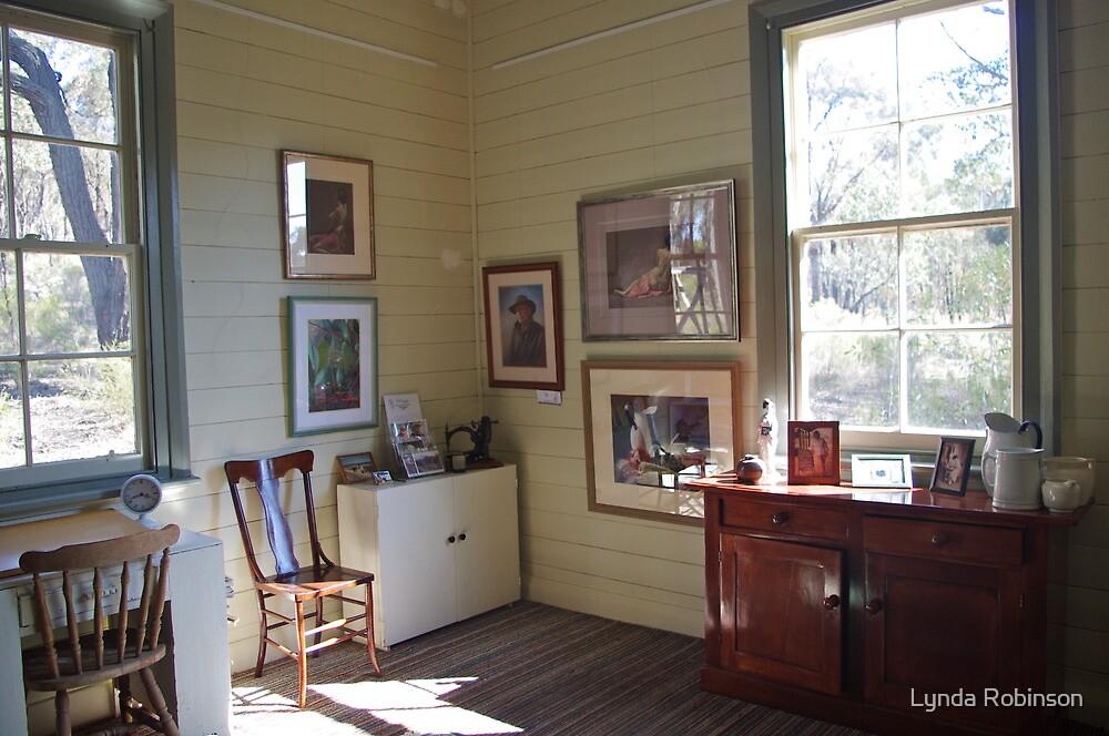 Studio Corner by Lynda Robinson