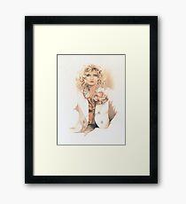"""Belinda"" Oil On Canvas Framed Print"