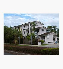 The Apartments, Trinity Beach, Suburb of Cairns. Que. Photographic Print