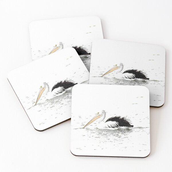 Pelican Art,  Coasters (Set of 4)