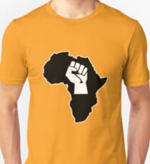 africa afrique fist revolution T-Shirt