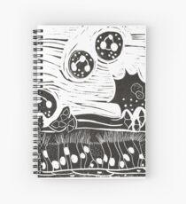 Infection Spiral Notebook