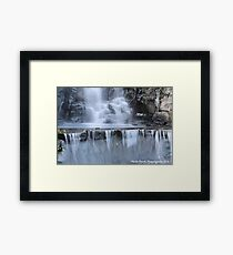 Waterfall PC Framed Print