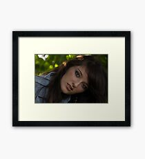 Everlasting gaze Framed Print