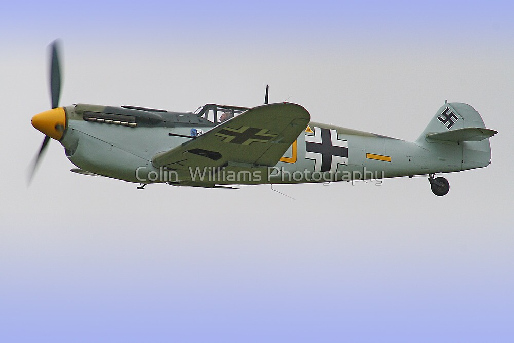 Me 109 Bouchon - Shoreham Airshow 2012 by Colin  Williams Photography