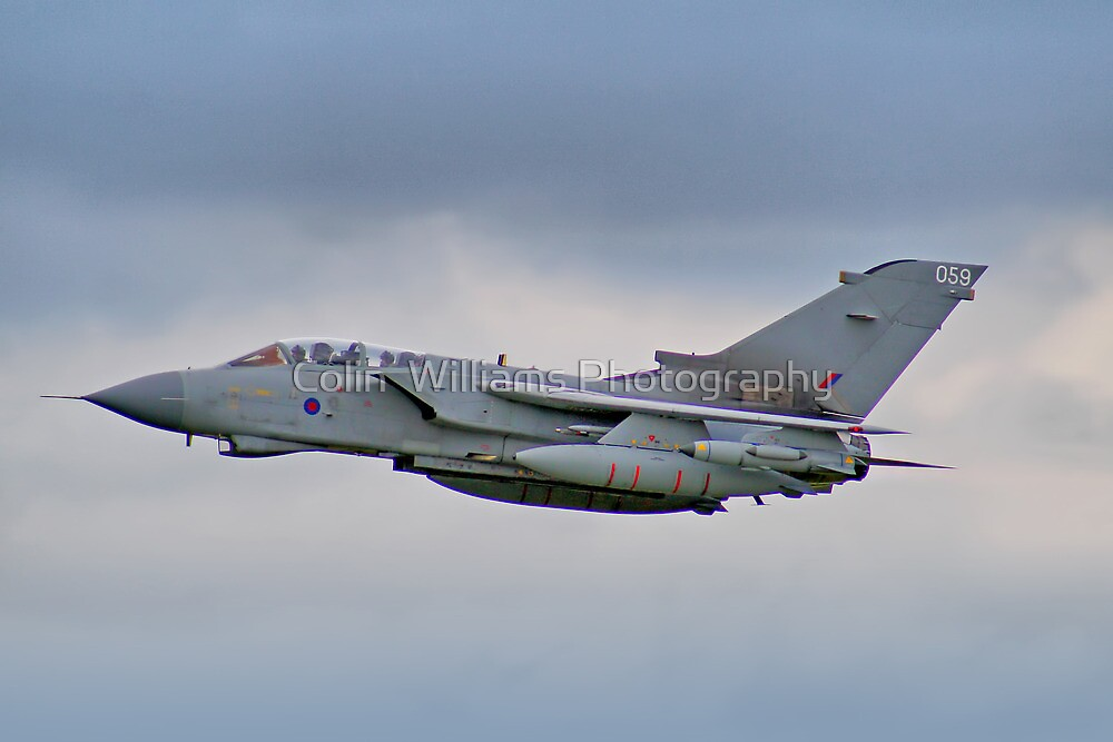 RAF Tornado GR4 - Dunsfold 2012 by Colin  Williams Photography