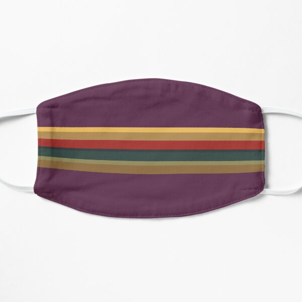 13th Doctor Rainbow Top (Purple Cosplay Shirt and Mask)  Flat Mask