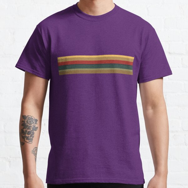 13th Doctor Rainbow Top (Purple Cosplay Shirt and Mask)  Classic T-Shirt