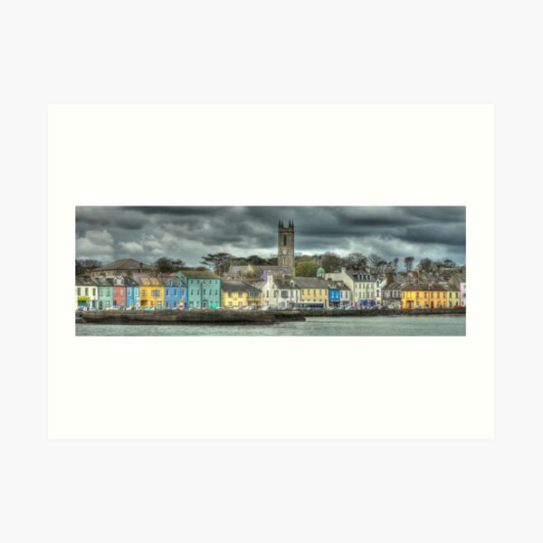 Donaghadee Without Lighthouse Art Print