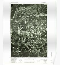 USGS Topo Map Washington State WA Elk 241005 1978 24000 Poster