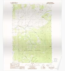 USGS Topo Map Washington State WA Havillah 241506 1988 24000 Poster