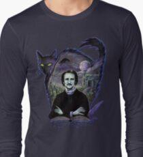 Edgar Allan Poe Gothic Long Sleeve T-Shirt