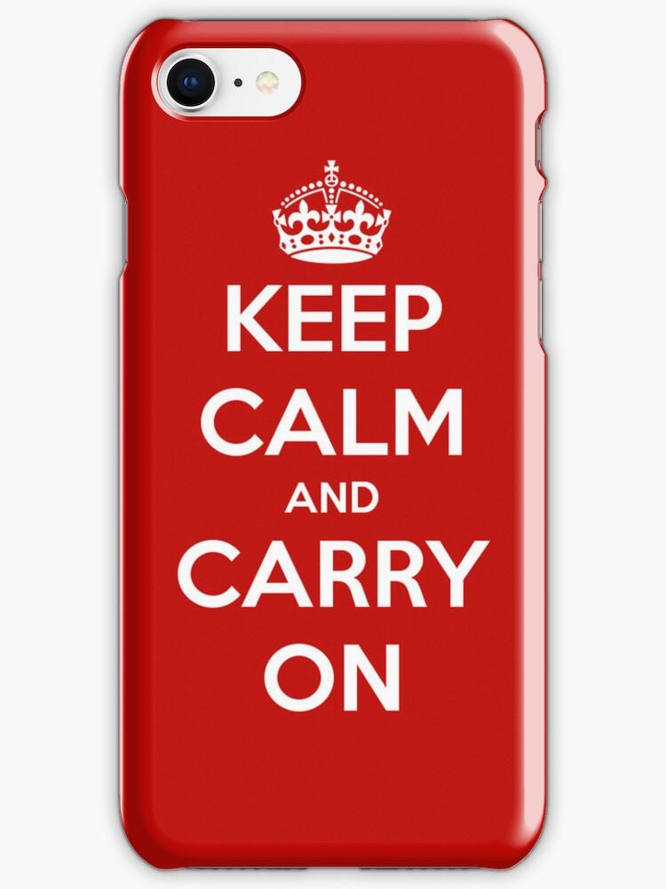 Keep Calm and Carry On by rapplatt