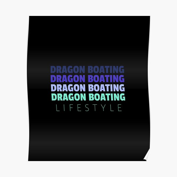 Dragon Boating Lifestyle Poster