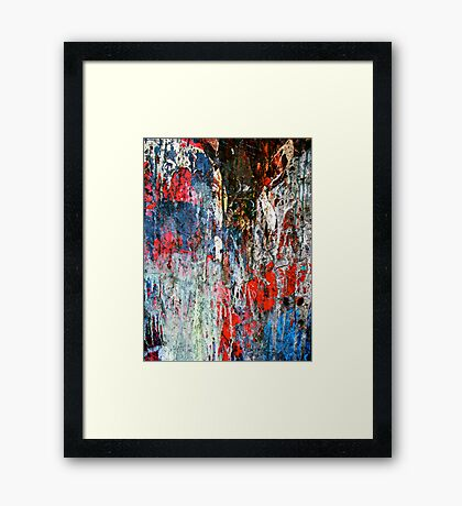 Uncontained V Framed Print