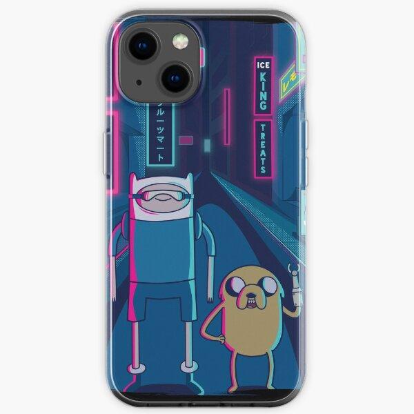 Adventure Time Cyberpunk Japan iPhone Soft Case