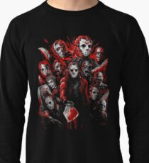 Jason Voorhees (Many faces of) Lightweight Sweatshirt