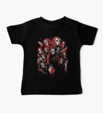 Jason Voorhees (Many faces of) Baby Tee