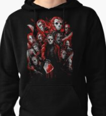Jason Voorhees (Many faces of) Pullover Hoodie