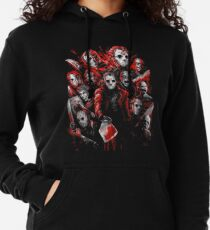 Jason Voorhees (Many faces of) Lightweight Hoodie