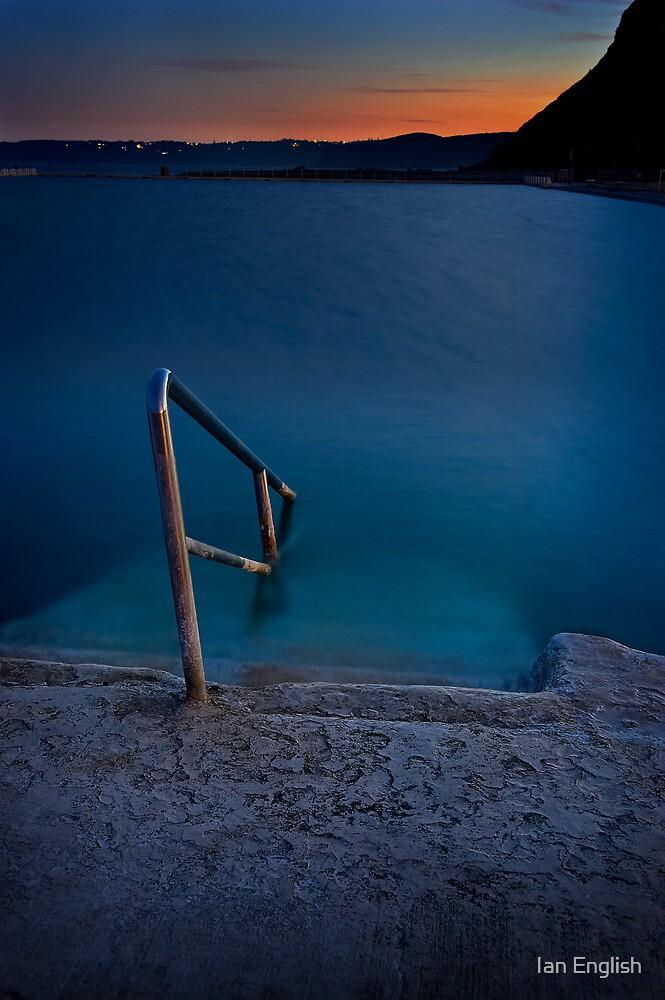Merewether Ocean Baths by Ian English