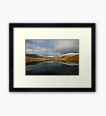 Echo - Llyn Cwmystradllyn Lake, Porthmadog Framed Print