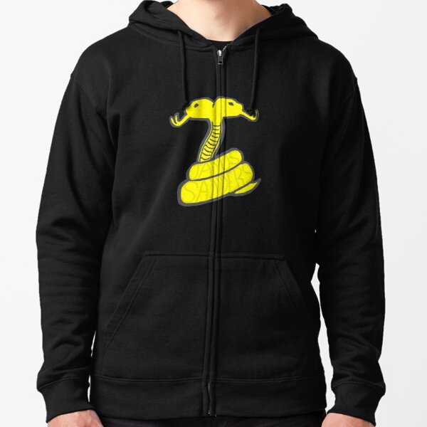 Thomas Sanders Sides Janus Deceit Yellow Logo Snake Snakes Zipped Hoodie
