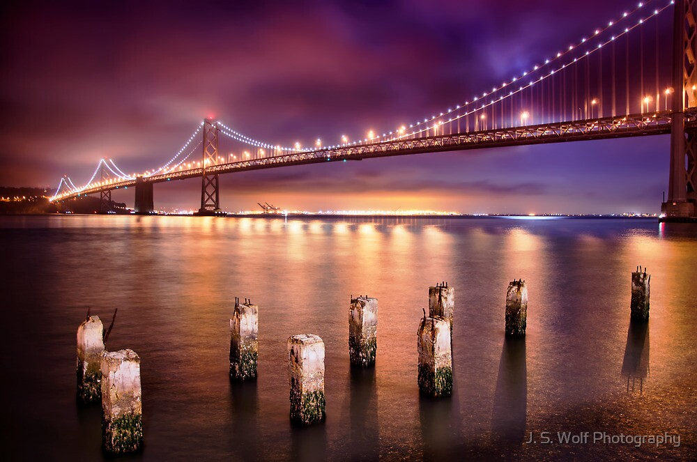 Bay Bridge by jswolfphoto