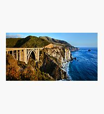 Bixby Bridge Photographic Print