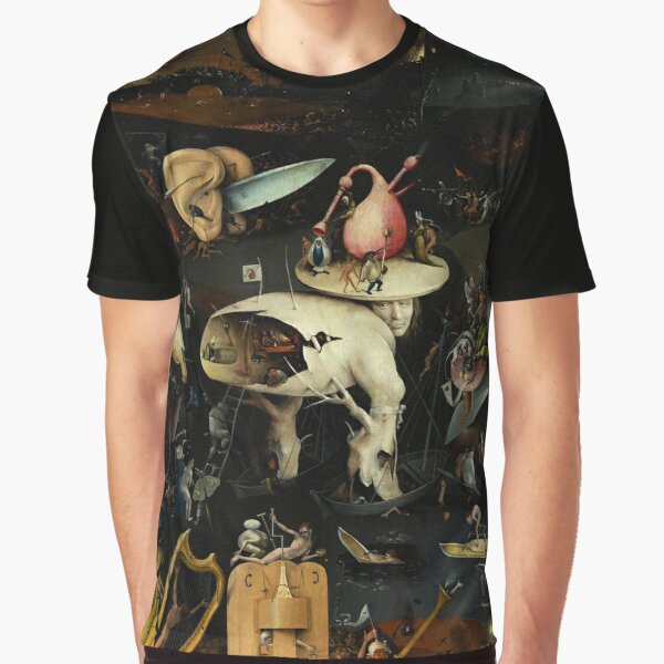 HELL By Hieronymus Bosch Graphic T-Shirt