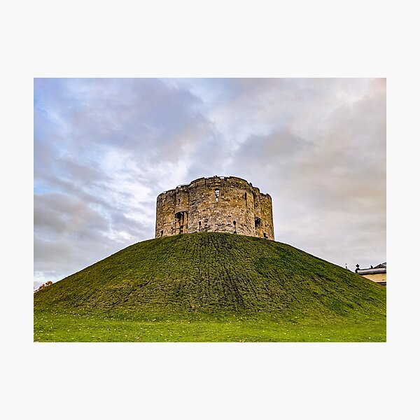 Historic Look out Castle in York Photographic Print