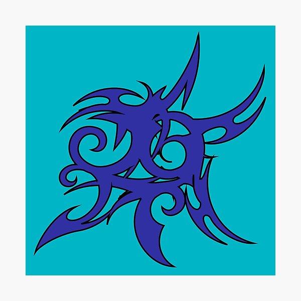 Tribales Design / Tattoo Fotodruck