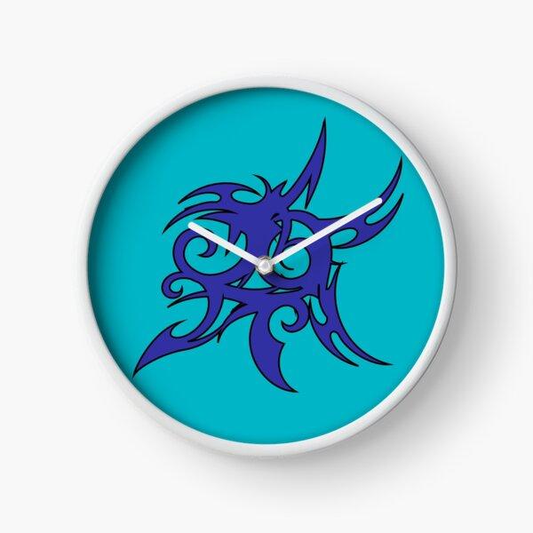 Tribales Design / Tattoo Uhr