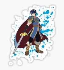 Marth - Super Smash Bros Sticker