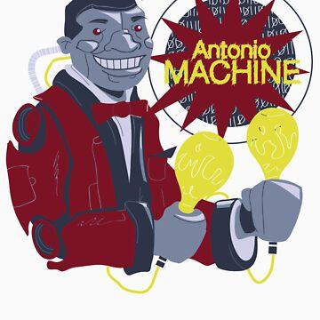 Antonio Machine by mimidrago