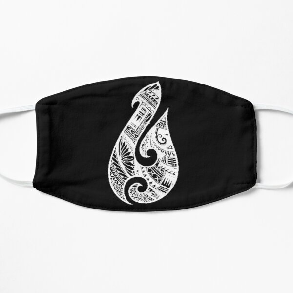 An authentic and traditional tribal tattoo of the New Zealand Maori. A striking Polynesian symbol of Maoritanga, pride, and culture. A fantastic gift for those interested in the art of tattoo. Mask