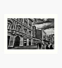 ROME - STREETSCAPE ...(3) Art Print