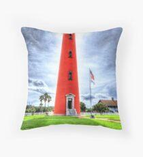 Ponce de Leon Lighthouse Throw Pillow