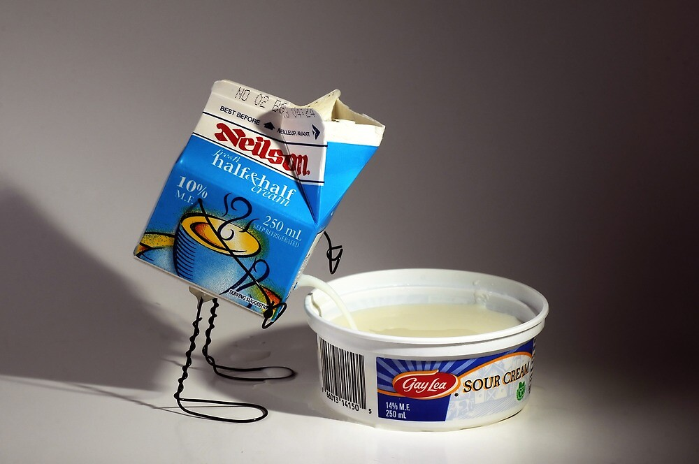 Sour Cream by Ian Thomas