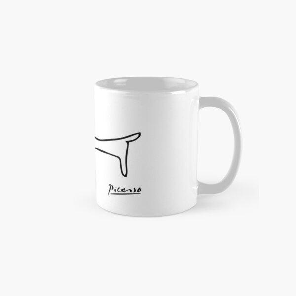 Pablo Picasso Dog (Lump) Artwork, Sketch Reproduction Classic Mug